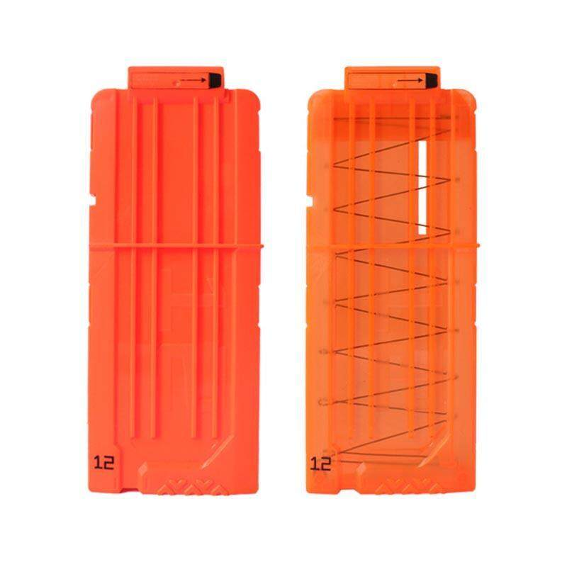 2pcs Clips Cartridge Holder Clip Hold For Foam Nerf N-Strike Fun Gift By Dowe.