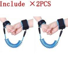 2PCS Haotom Baby Child Anti Lost Safety Hook Loop Fastener Wrist Link Rope Band Leash Belt