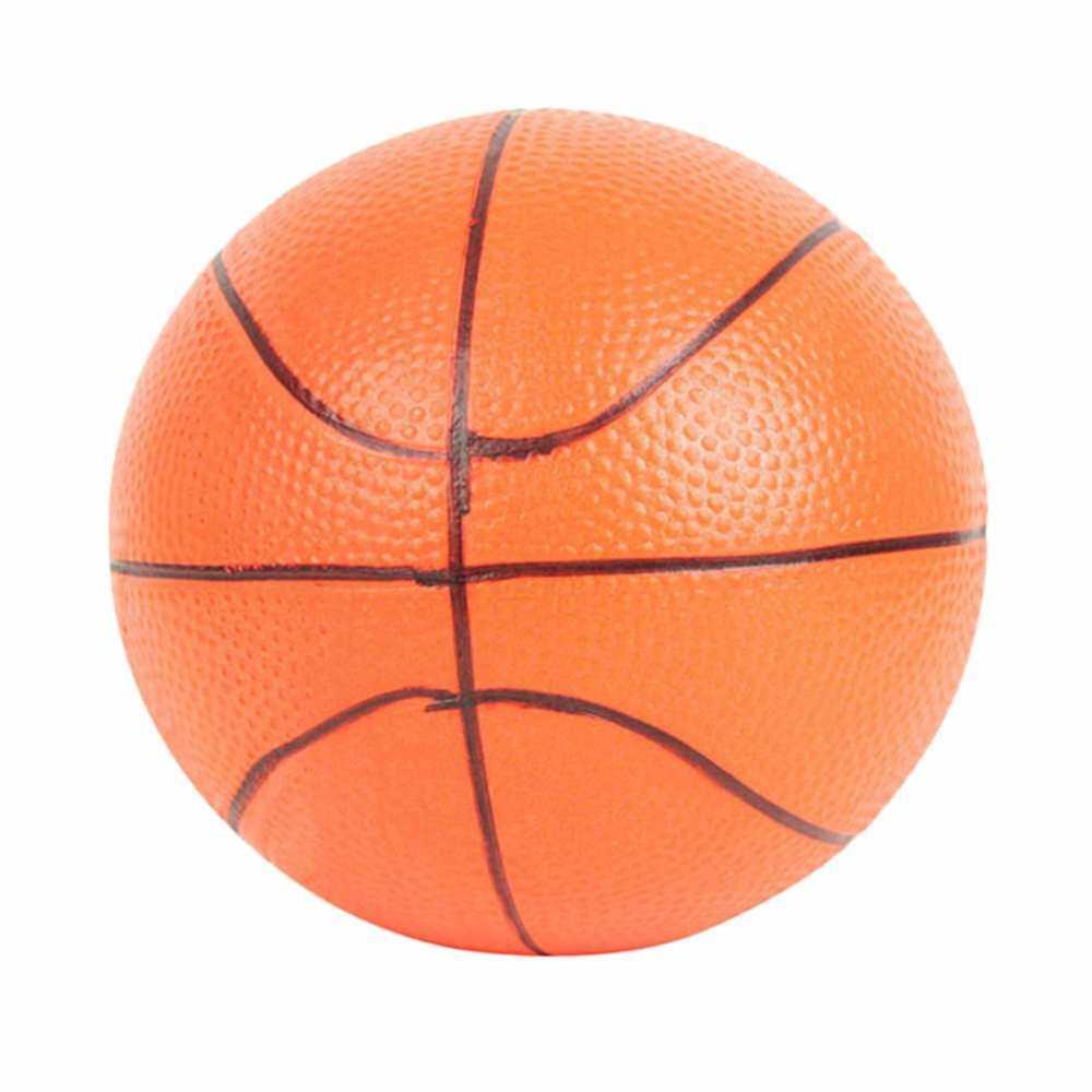 2x6.3 ซม. บาสเกตบอลสีส้มมือนาฬิกาข้อมือ Ball ความเครียดโฟมออกกำลังกายบีบ By Aajqcqwf.