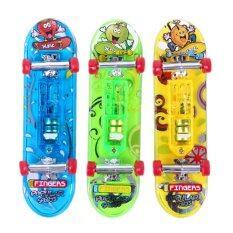 2 X Mini Skateboard Mainan Papan Jari Anak Hadiah Anak Anak By Sportschannel.