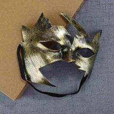 3 Warna Anonim Pesta Topeng Acara Kecil Daun Maple Masker Hiburan