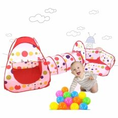 3 In 1kids Play Tent Tunnel Play House Children Baby Indoor Outdoor Toys By Homie&goodie.