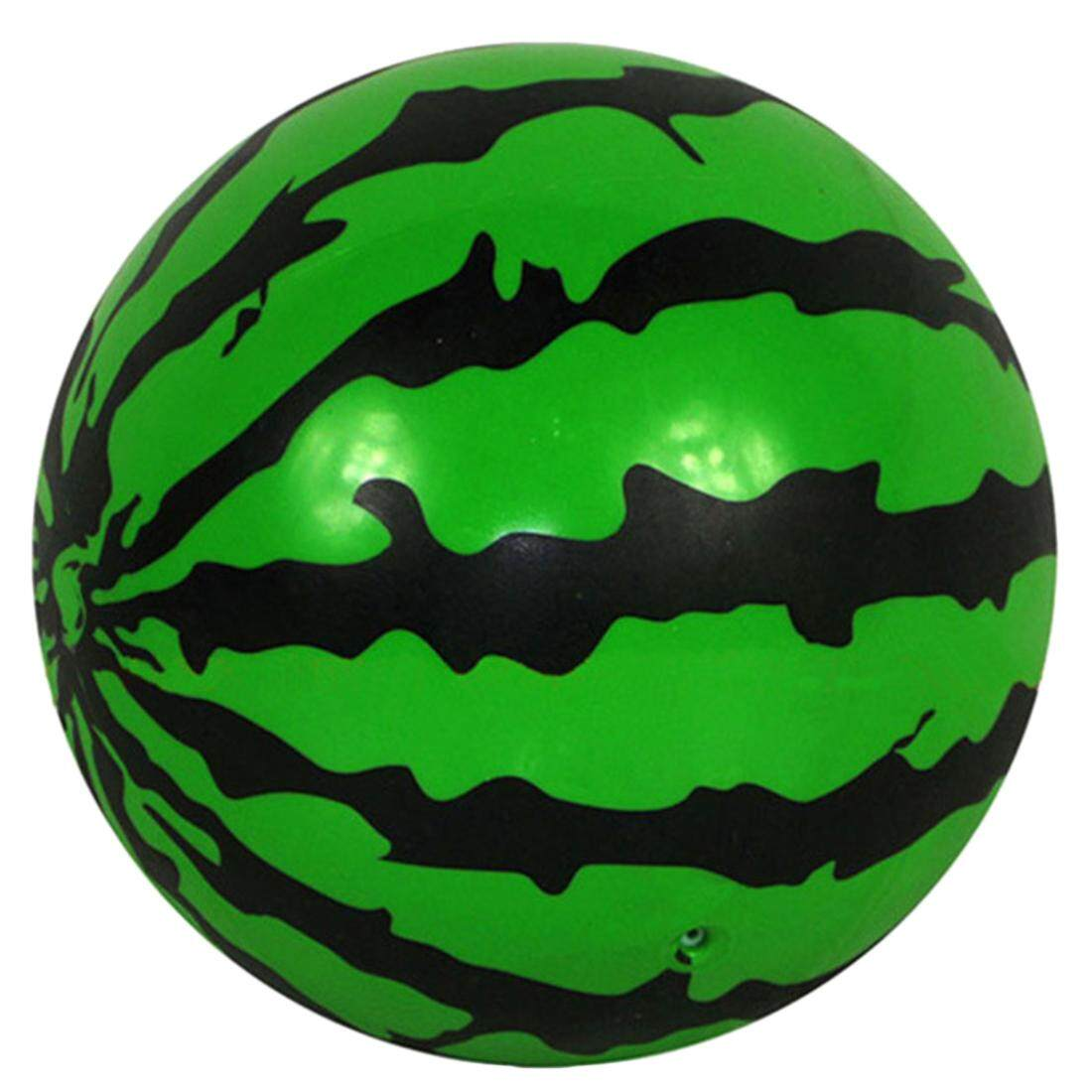 Hình ảnh 360DSC 16cm Inflatable Watermelon Ball Bouncy Ball Kids Sport Education Toys - intl