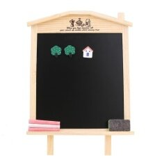36x17cm Desktop Message Blackboard Chalkboard Kids Wooden Writing Board By Welcomehome.