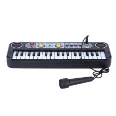 37 Keys Multifunctional Mini Electronic Keyboard Music Toy With Microphone Educational Electone Gift By Outdoorfree.