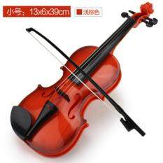 39cm Adjustable String Musical Beginner Develop Kid Talent Simulation Toys Bow Acoustic Violin Practice Demo Instrument Children Gift By Lovecat.
