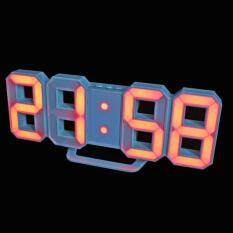 3d Digital Alarm Clock 8 Shaped Clock 24/12 Hours With Battery Usb Cable By Brisky.