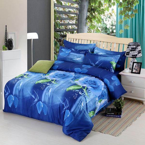 3d Four Sets Of Stereo-Active Printing Bedding Sets - Intl By Freebang.
