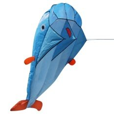 3d Huge Soft Parafoil Dolphin Kite By Trustinyou.