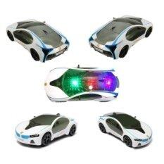 3D Led Flashing Light Car Toys Music Sound Electric Toycars  Kidschildren Gift 20Cm*9Cm*5Cm