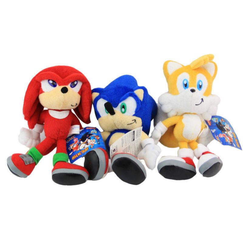 3 Pcs/set Produk Baru Sonic Boom Mewah 22 Cm Super Sonic Mainan Boneka Kartun