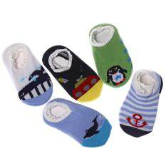 4 Pairs Mix Color Cartoon Animal Style Baby Boys Socks By Yihe Store.
