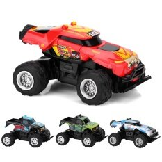 40mhz 4channel Mini Remote Control Car Electric Vehicle Rc Model Toy(red&yellow) By Highfly.