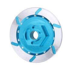 4pcs Blue Aluminum Brake Disc Wheel Adaptor For 1:10 Hsp Hpi Rc Car Model (blue) By Welcomehome.