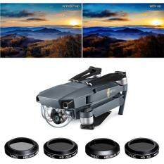 4x Lens Filters Mrc Nd4 Nd8 Nd16 Nd32 For Dji Mavic Pro Accessoriesdurable New   By Uniqlo.