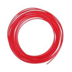 5 meter 1.75 mm PLA Print Modeling Filament for 3D Drawing Printer Pen(Red)