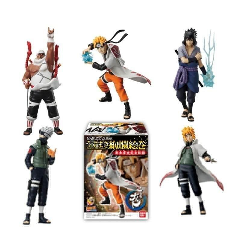 5 Pcs/set Naruto Action Figure Toys