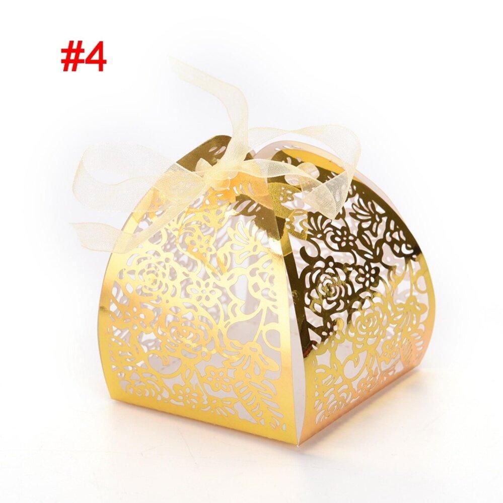 1 ชิ้น/ล็อตกล่องขนมผีเสื้อของชำร่วยงานแต่งกล่องสำหรับอุปกรณ์ตกแต่งสไตล์ 4 - Intl By Up Top.