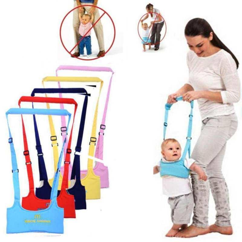 HSGA16RS 6-20 Bulan Penjaga Ramah Bayi Asisten Belajar Berjalan Walker Yang Bisa Diatur Sabuk