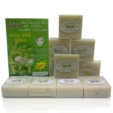 6 Pcs Sabun Susu Beras K Brothers Soap By Tropical Hot Mart.