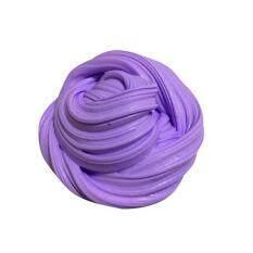 60ml Fluffy Slime floam đồ chơi bùn màu giảm trẻ em món quà vui nhộn ADHD Tự kỷ căng thẳng-Tím-Tím