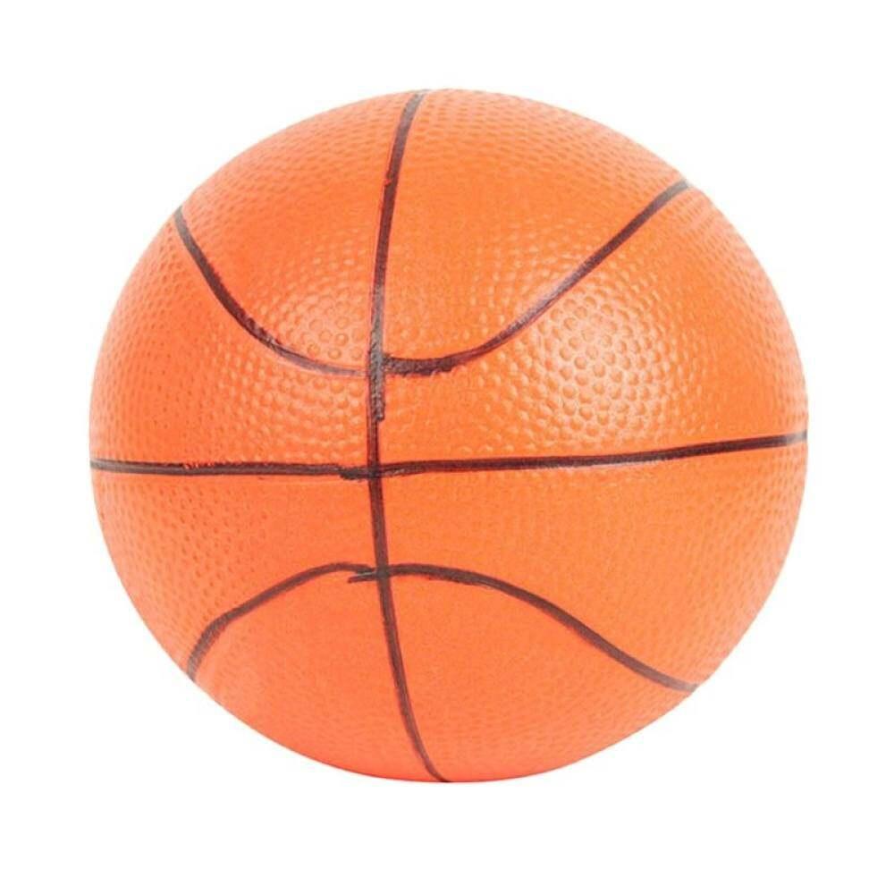 6.3 ซม. สีส้มบาสเกตบอลมือออกกำลังกายข้อมือความเครียดลูกบอลบีบโฟม Intl Soft Relief By Aajqcqwf.