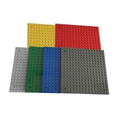 6pcs 16 X 16 Studs Base Plate Construction Building Blocks Base Board By Trustinyou.