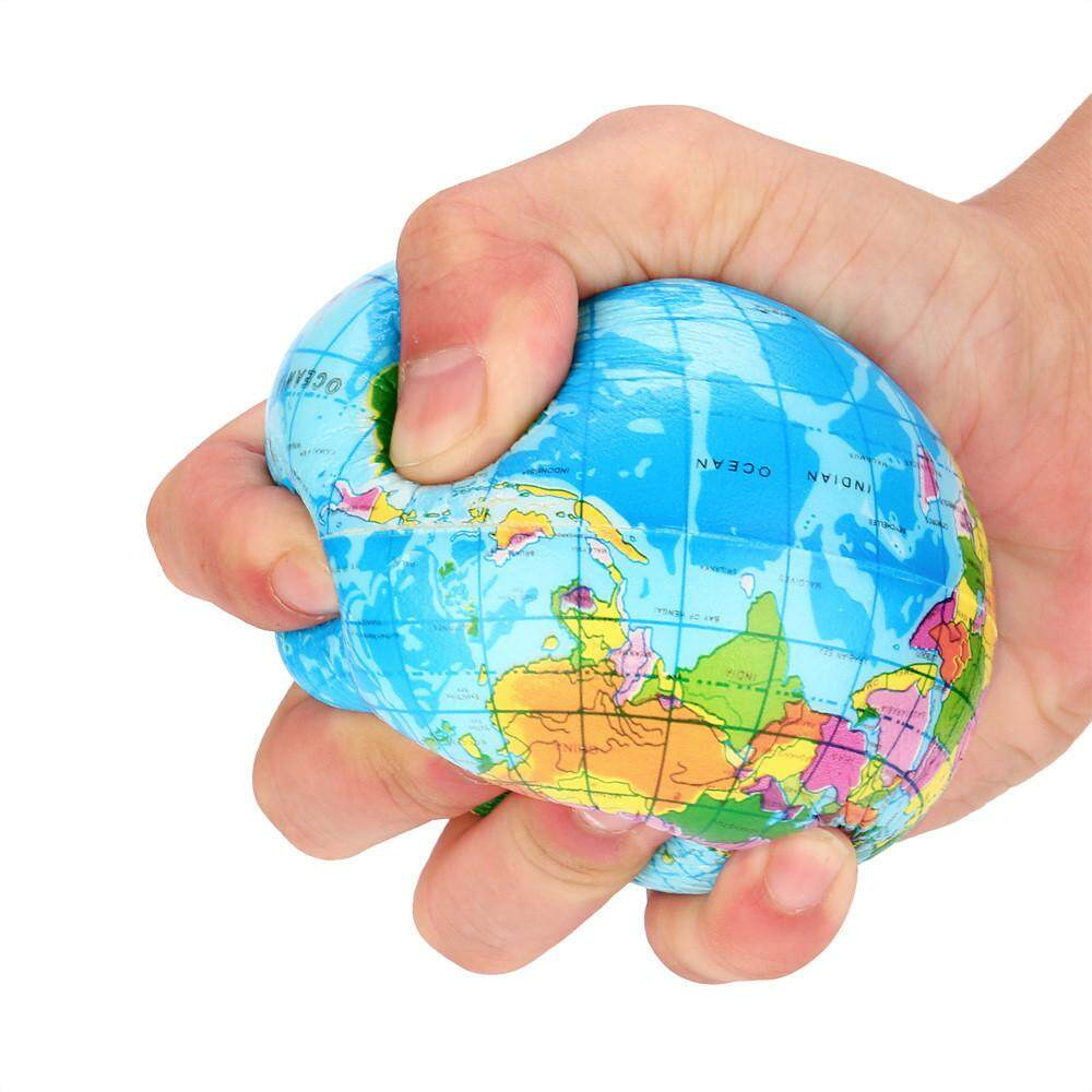 Life skills for kids for sale life toys online brands prices shopping world 76mm stress relief world map foam ball atlas globe palm ball planet earth ball gumiabroncs Gallery