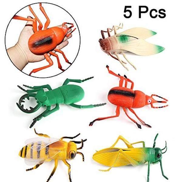 8 Inch Serangga dan Tokoh Perusak Set untuk Anak-anak dan Balita 5 Pieces-