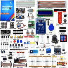 Adeept RFID Starter Kit for Raspberry Pi 3, 2 Model B/B+, Stepper Motor,  ADXL345, 40-pin GPIO Extension Board, with C and Python Code,