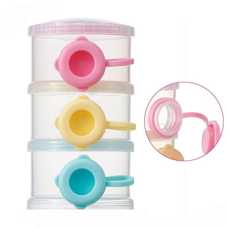ถูกที่สุดในวันนี้ Aging Baby Infant Kids Milk Powder Formula Food Fruit Candy Storage Feeding Containers Toddler Box Case 3-Layer buy - มีเพียง ฿249.00