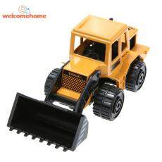 Paduan Simulasi Teknik Model Truk Anak-anak Puzel Mobil Mainan Hadiah (Hitam)-