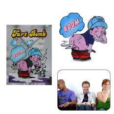 Hình ảnh Allwin 10 Pieces Smelly Fart Bomb Bag Fool Toy Novelty Prank Someone Stink Exploding Silver