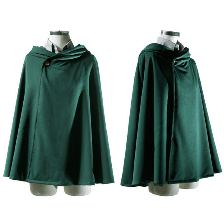 Anime Shingeki no Kyojin Cloak Cape Clothes Cosplay Attack on Titan Costume