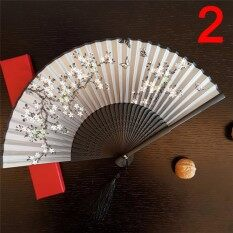 Antique Folding Female Fan Classical Mixed Decoration Home Furnishing Type : 2