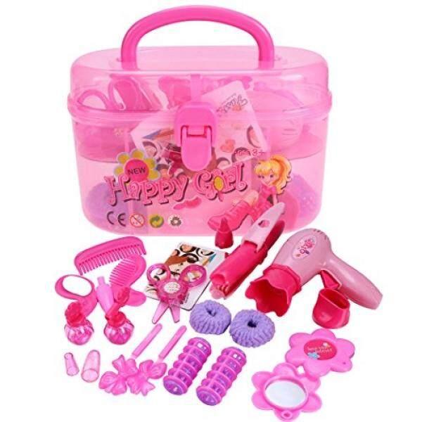 Arshiner Gadis Kecil Berpura-pura Bermain Kit Pengering Rambut Salon  Kecantikan Fashion Salon Kecantikan Set 5c378fbf37