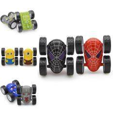 Ashley May High Quality Spiderman children's novelty toys dumpers inertia alloy car back to force stunt