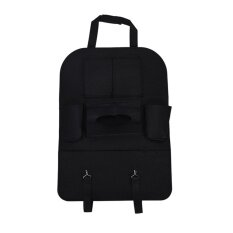 Auto Car Seat Back Multi-Pocket Storage Bag Organizer Holder Accessory Black - Intl By Magical House.