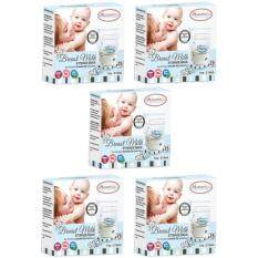Autumnz Double Ziplock Breastmilk Storage Bag 7 oz (5 Packs)