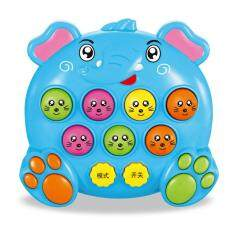 Hình ảnh B-F Mole Battle Music Play Notes Hit Game Toy Attack Poke Electronic Plastic Baby Toys Christmas Gift