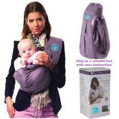 Baby A 5 Position Hand Free Adjustable Sling Carrier-Purple By Baby A.