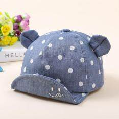 Baby Baseball Ears Dots Cotton Hat Toddler Kid Infant Boys Girls Cap By Laurance.