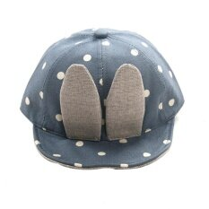 Baby Beanie For Boys Girls Long Rabbit Ears Children Dots Hats Bu By Hatchshop.
