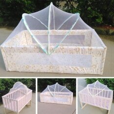 Baby Bed Tent Infant Canopy Folding Anti Mosquito Net Toddlers Crib Cot Netting By Bokeda Store.
