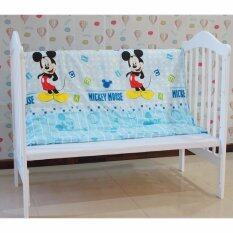 Baby Cot Mickey Mouse Bedding Set (60x120cm) Comforter Only By Queens Baby House.