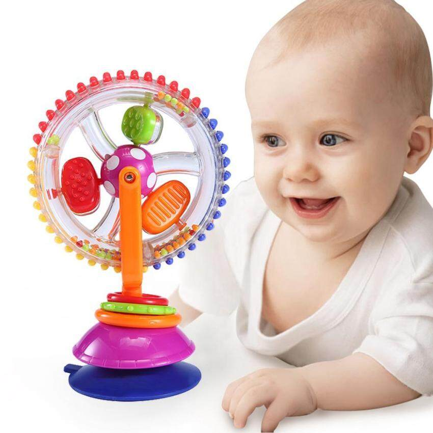 [FREE SHIPPING]Baby Ferris Wheel Rotating Wheel Windmill Baby Toddler Play Toys Child Kids Toys Spinning Wheel Suction Chair