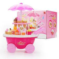 Baby Girl Pretend Playset Cute Playsets Sweet Candy Cart Mini Supermarket Trolley Kids By Online Store 123.