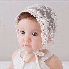 fc50d115fa3c Baby Girls Princess Hats Bonnet Retro Cap Cotton Palace Hat Cute Sun Hats  Little girls Lace