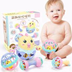 Baby Hand Shake Bell Ring Educational Toys Set By Express D.