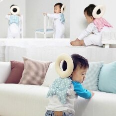 Baby Head Protection Pad Toddler Headrest Pillow Baby Neck Cute Wings Nursing Drop Resistance Cushion ส่ง Free!!